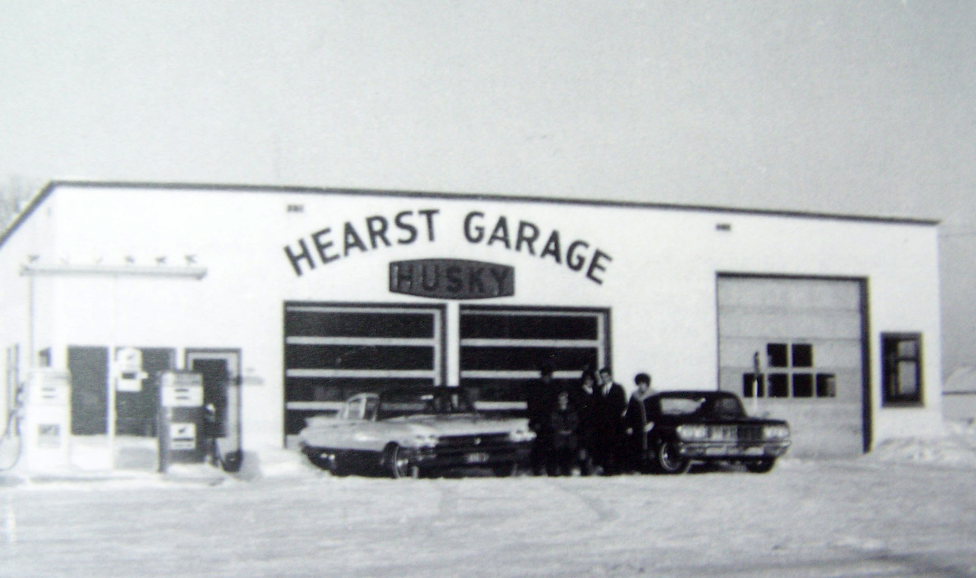 Hearst Garage Husky