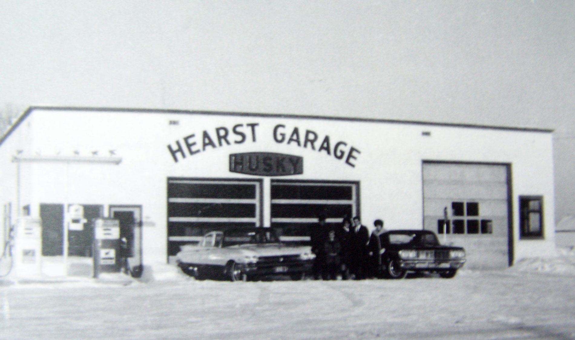 Hearst Garage Husky