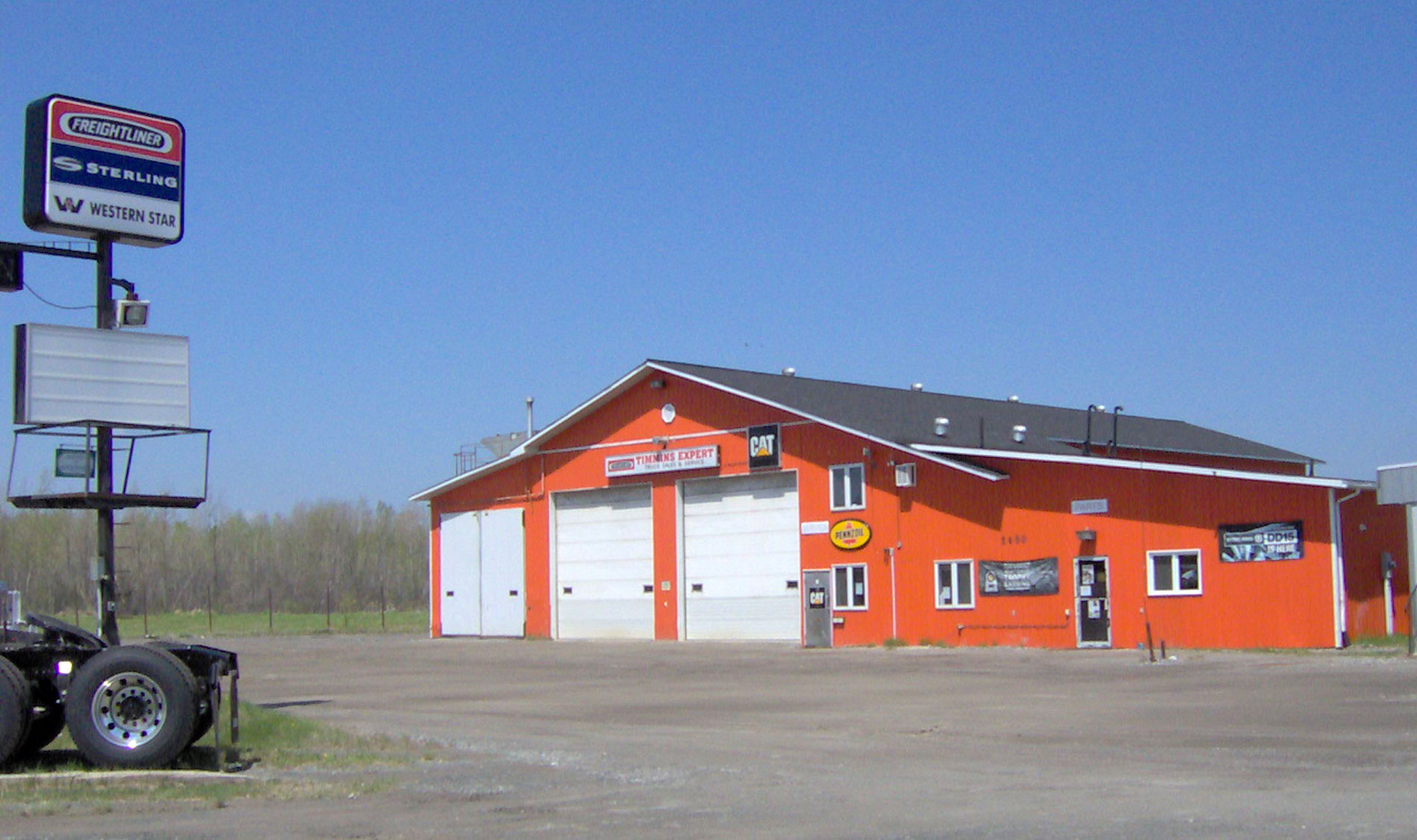 Picture of the old Expert Garage